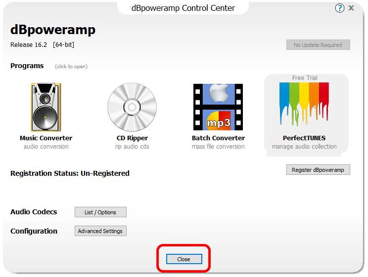 dBpowerAMP Music Converterダウンロード2