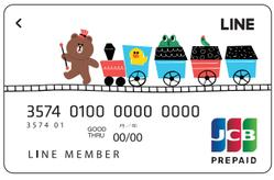 店頭デザインLINEPayカード
