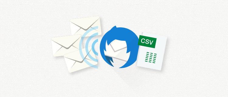 CSVで同報送信