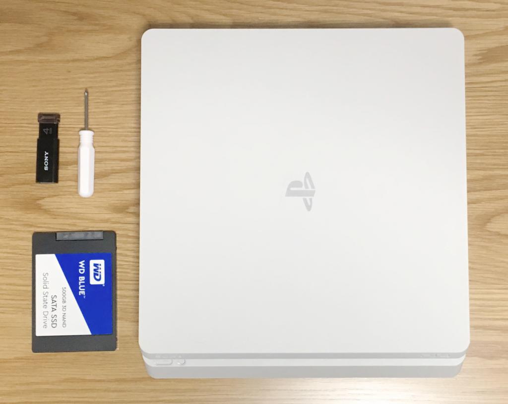 PS4-HDD換装
